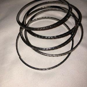 These are dark silver